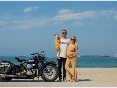 Long Beach Motorcycle Family