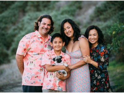 Redondo Beach Family + Pug Puppy