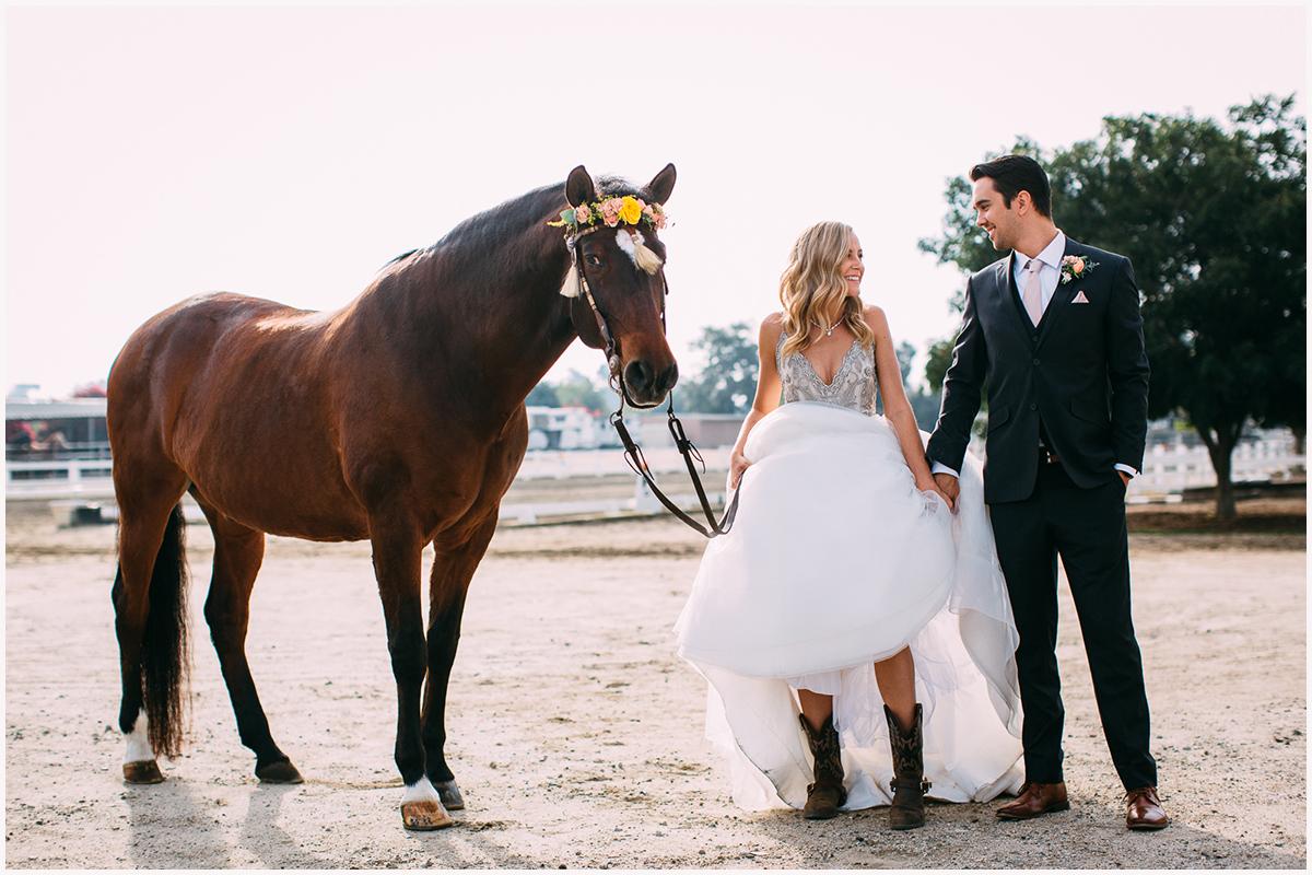 Red Horse Barn Wedding Zoom Theory