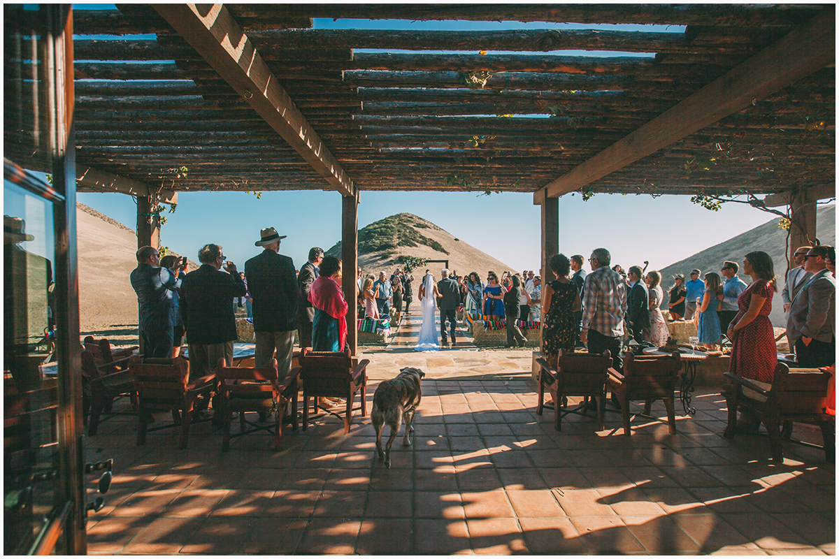 Hollister ranch home wedding santa barbara 49